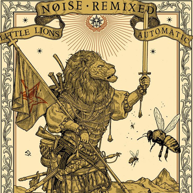 Noise Remixed Poster by Ravi Zupa