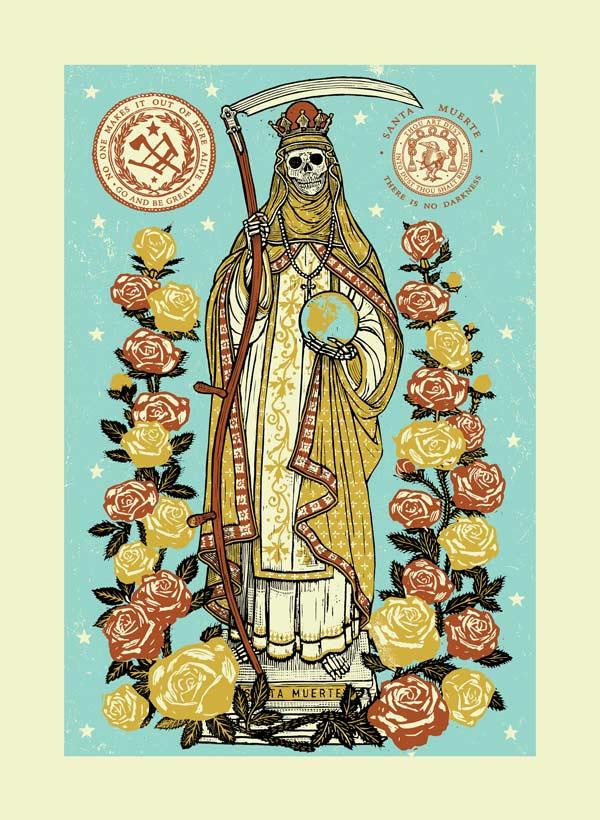 santa muerte Archives - RAVI ZUPA